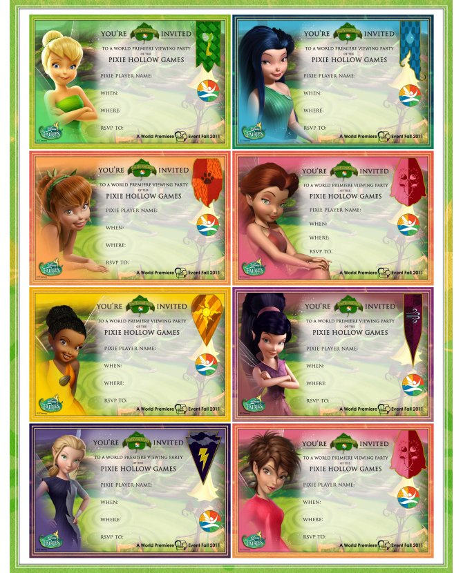 free tinkerbell games