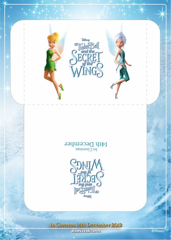 Tinkerbell Game From Secret of the Wings movie